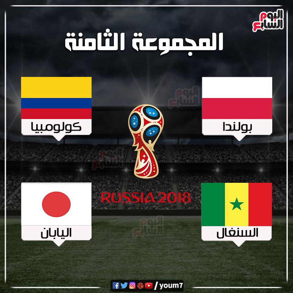 المجموعه الثامنه العالم بروسيا 2018 www.alashrafedu.com1