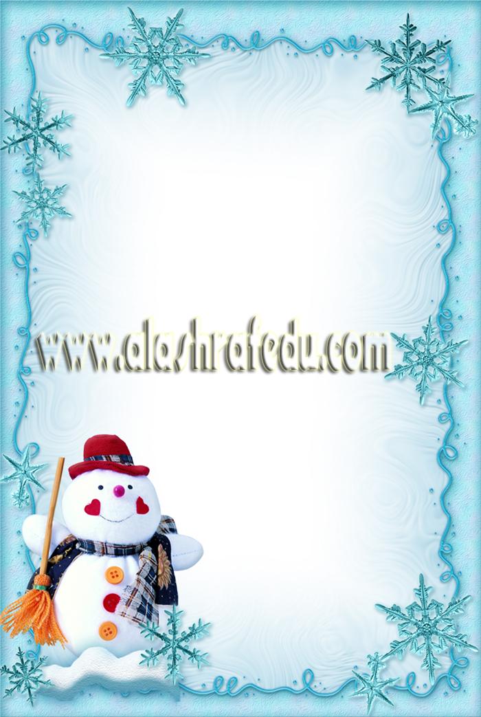 Christmas Snowman 2019 www.alashrafedu.com1