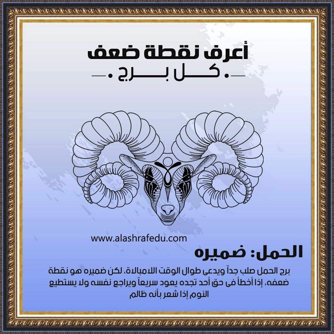أعرف نقطة 2020 الحمل ضميره www.alashrafedu.com1
