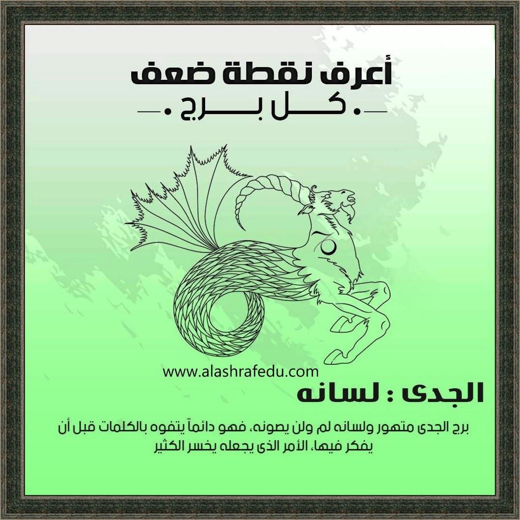 أعرف نقطة 2020 الجدى لسانه www.alashrafedu.com1