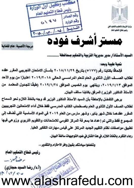إمتحان الكتاب المفتوح Open Book Exam 2019 www.alashrafedu.com1